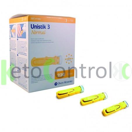Unistik Safety Lancets 23g
