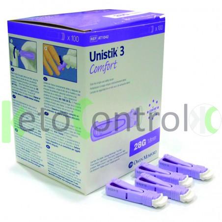 Unistik Safety Lancets 28g