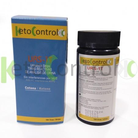 Tiras de Orina Keto Control para Análisis de Cetonas